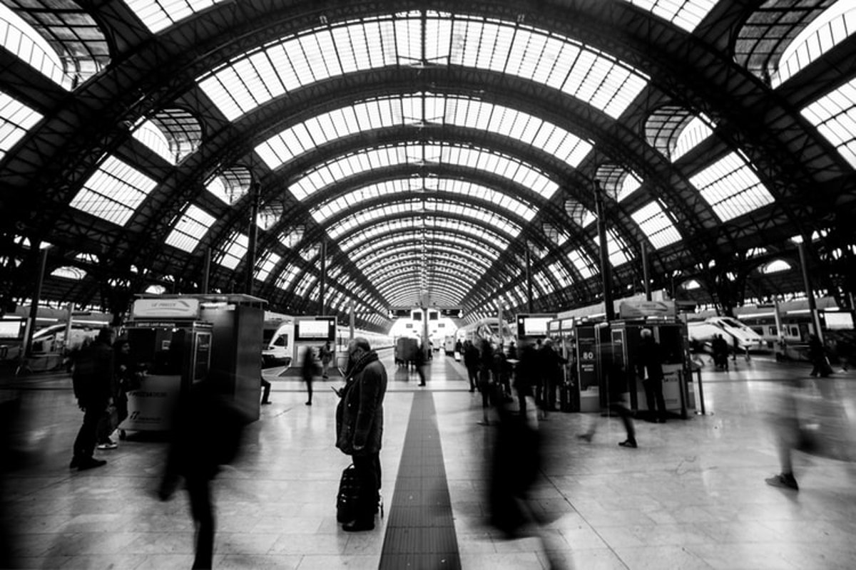手荷物預かりミラノ中央駅