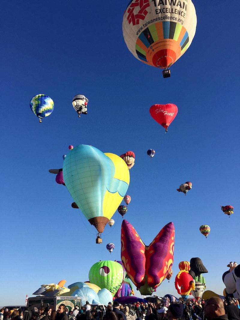 Hot air balloon race, Albuquerque, New Mexico