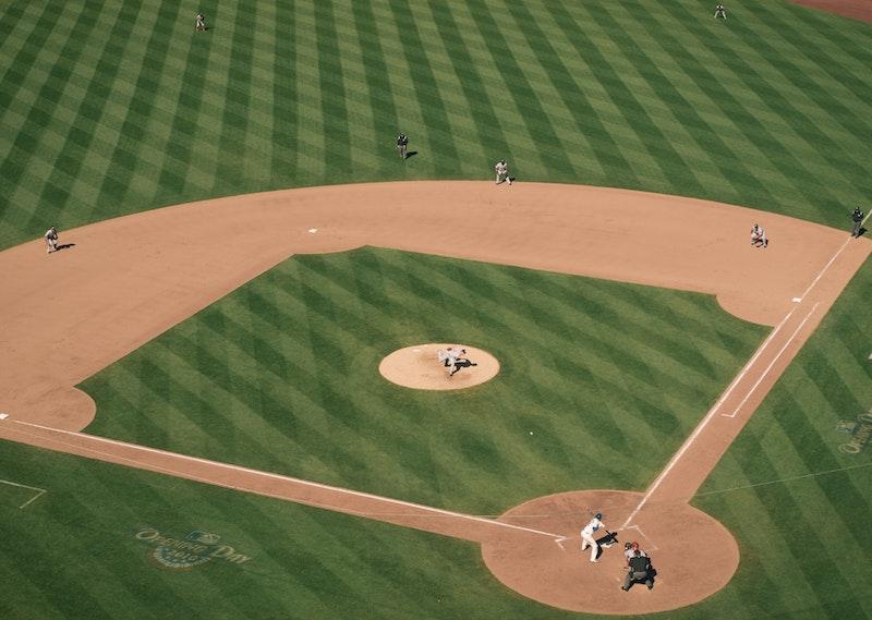 Baseball game at Citi Field, New York