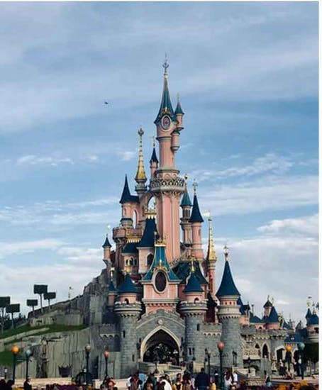 Disneyland Paris 行李寄存