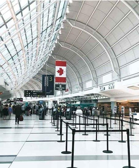 Consignación de Equipaje en Toronto Airport