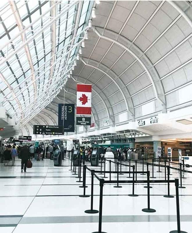 Depósito de Bagagem Aeroporto de Toronto (YYZ)