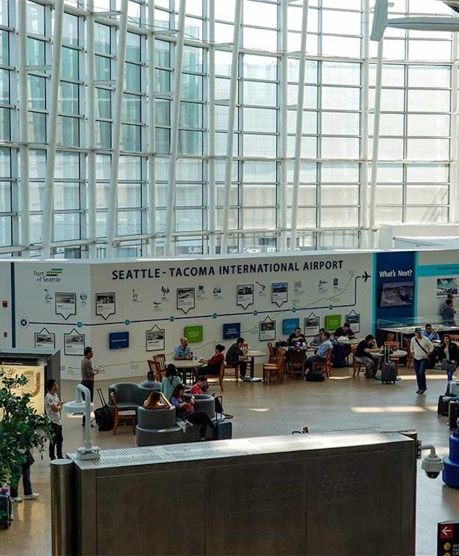 Deposito Bagagli presso Aeroporto internazionale di Seattle-Tacoma (SEA)