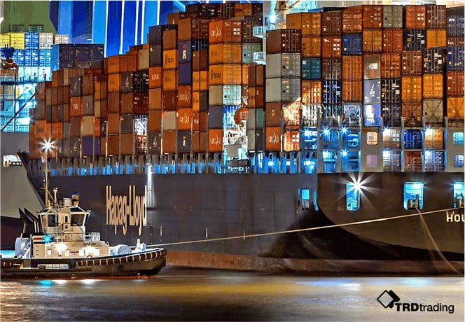 TRD Trading Containerschiff