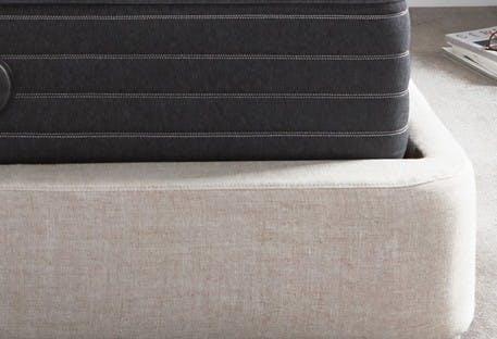 Beautyrest mattress on a frame