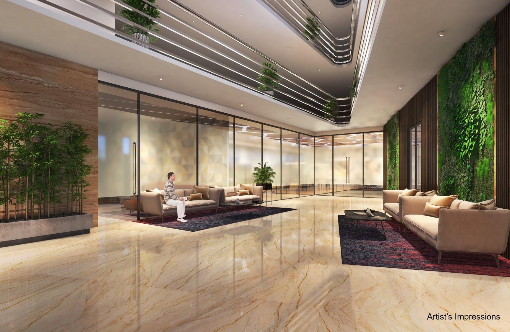 BramhaCorp Smart Apartment Lobby
