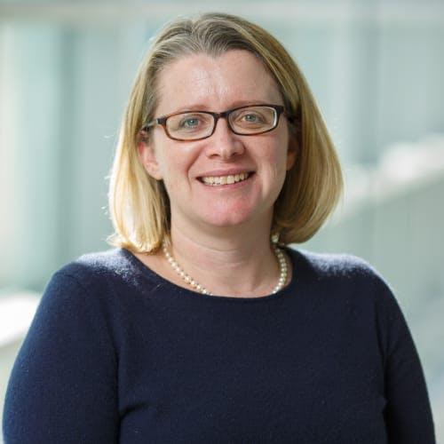 Headshot of Brandeis Climate Change course Professor, Colleen Hitchcock