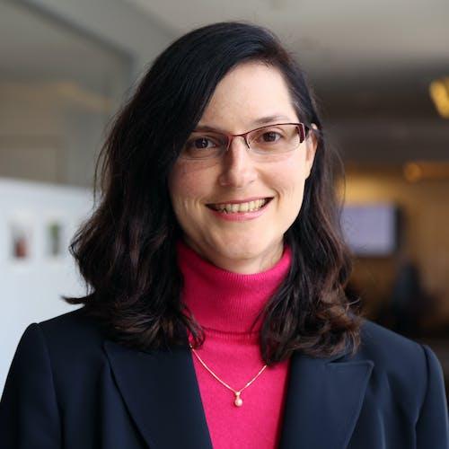 Headshot of instructor, Cynthia A. Tschampl, PhD
