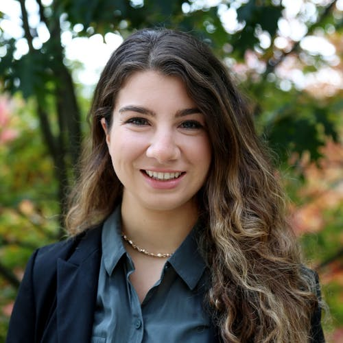 Headshot of Rebecca who is a Global Health mentor