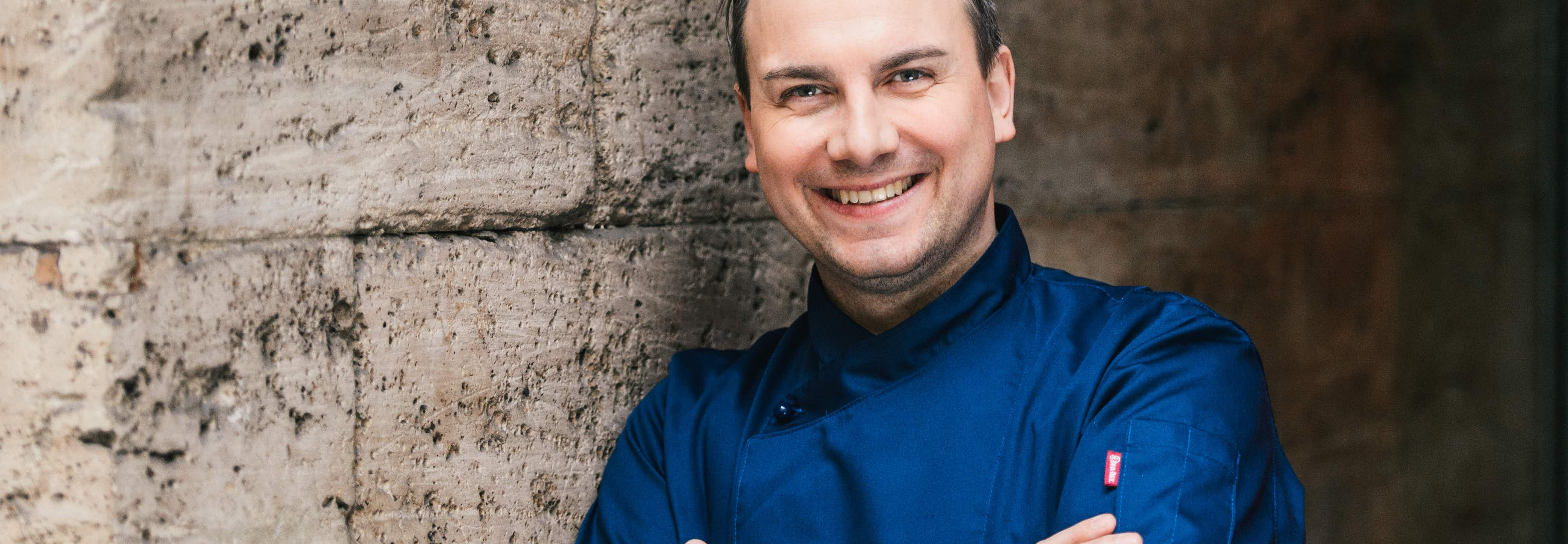 Tim Raue - 2-Sterne Koch und kulinarischer Berater der Brasserie Colette Tim Raue