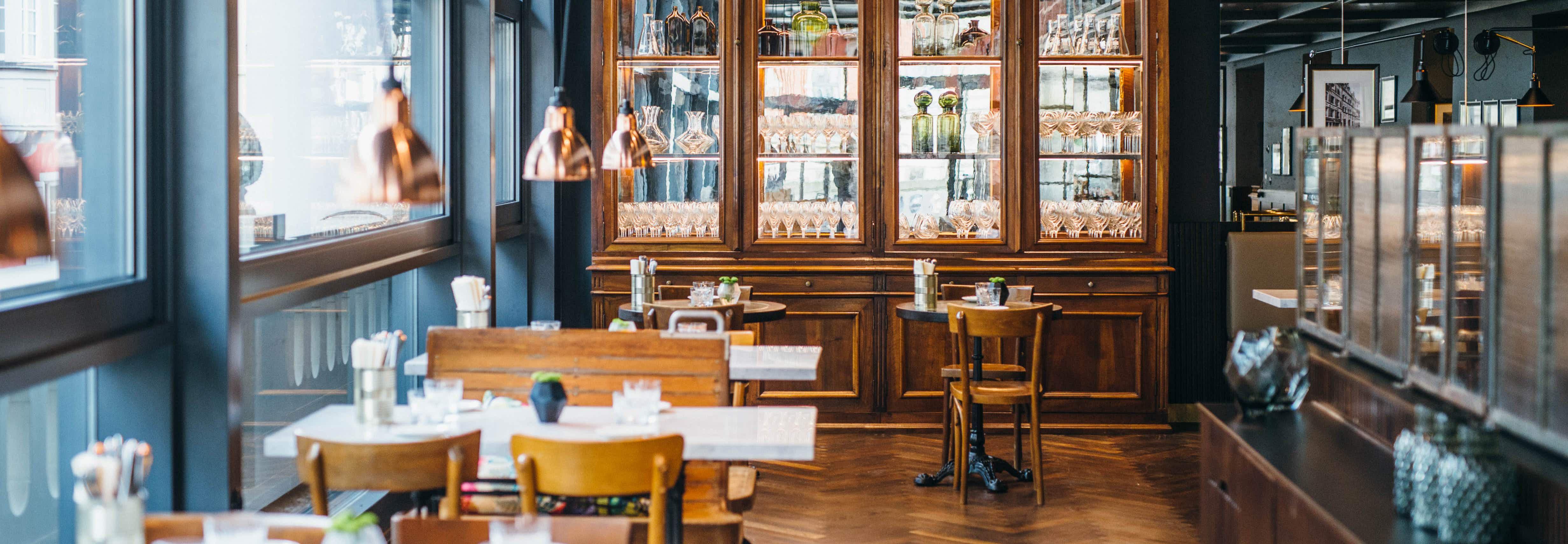 Eventlocation in Konstanz - gemütliche Einrichtung in der Brasserie Colette Konstanz