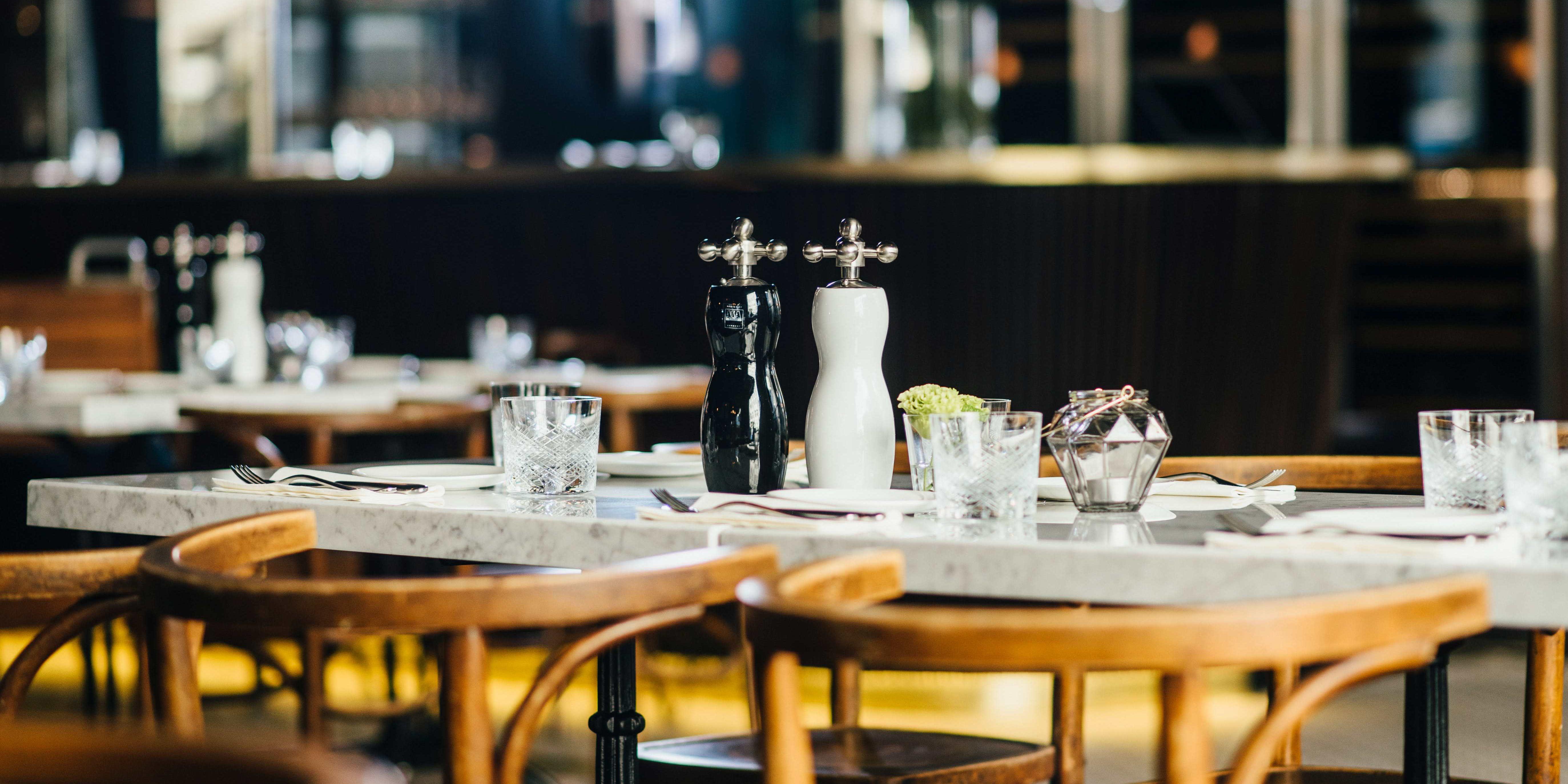 Brasserie Colette Konstanz - Gedeckter Tisch