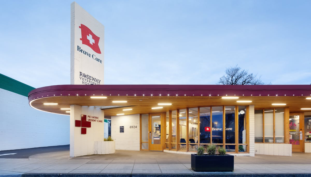 Outdoor view of the NE Portland Brave Care clinic.