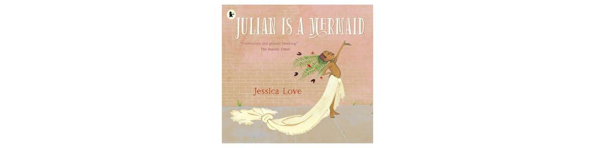 Book cover: Julian is a Mermaid