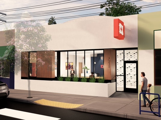 Render of the Sellwood Clinic from the outside