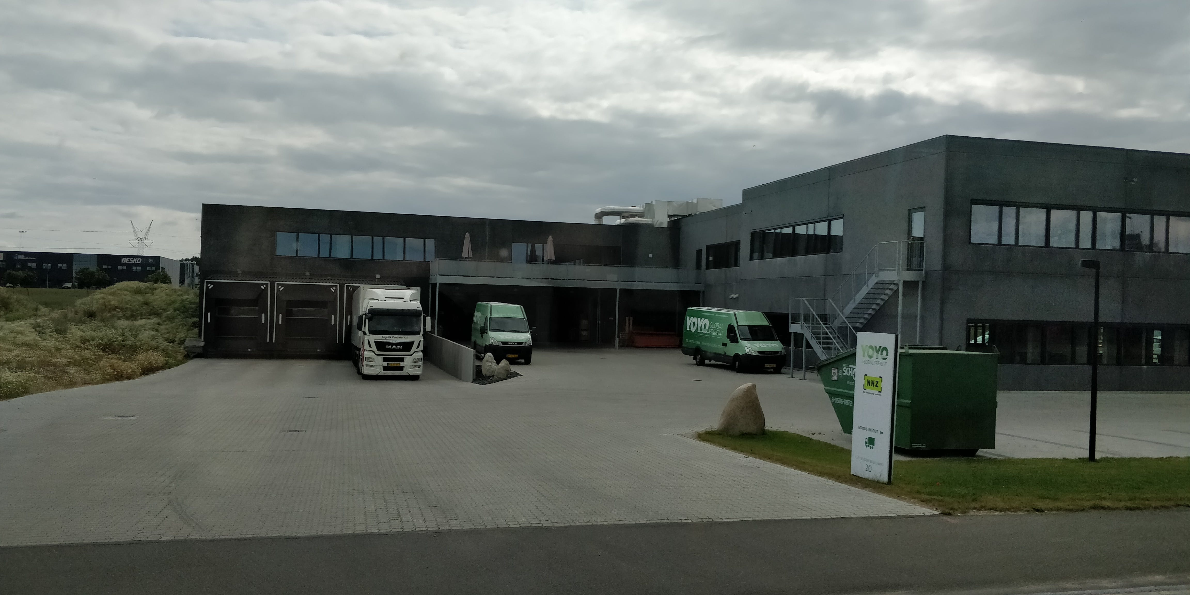 YOYO Global Freight headquarters in Odense.