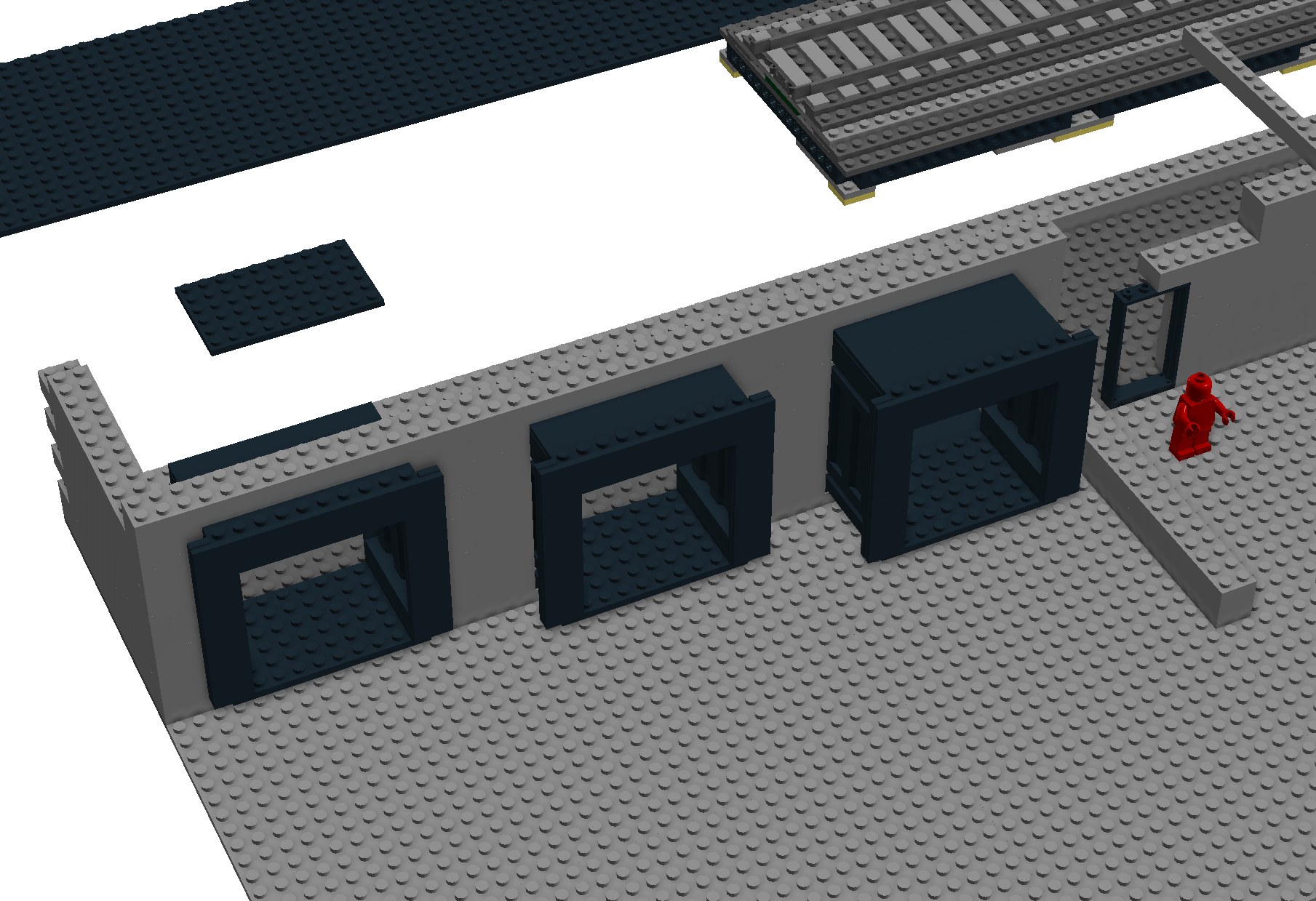 Docking Terminals of YOYO Global Freight in LEGO