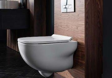 cuvette wc suspendu et meuble