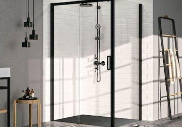 paroi de douche industrielle