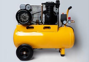compresseur air jaune