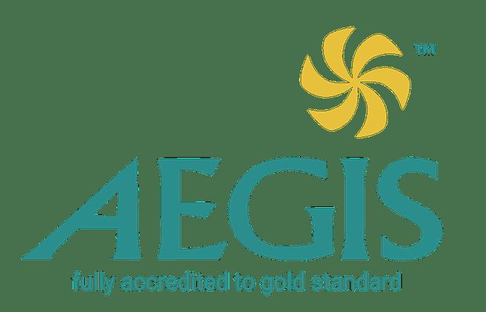 AEGIS gold logo