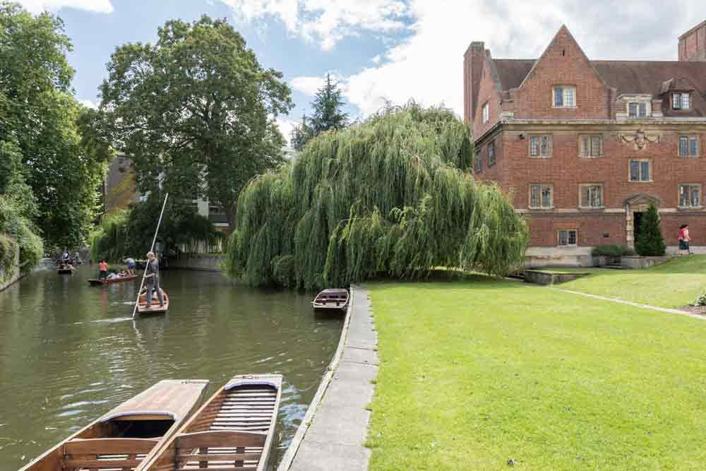 Cambridge University residence