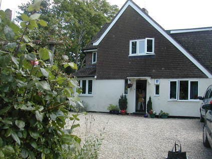 Su and John's lovely house near Reading