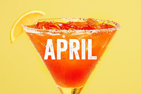 Chili's Margarita of the Month | Straw-Eddy | April