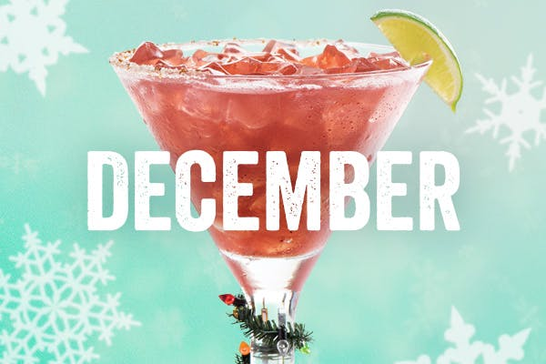 Chili's Margarita of the Month | Merry Berry Rita | December
