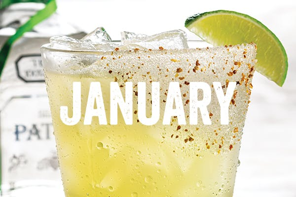 The Cheers to Patron 'Rita - Chili's January Margarita of the Month