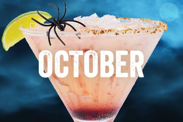 Chili's Margarita of the Month | Spider Bite | October