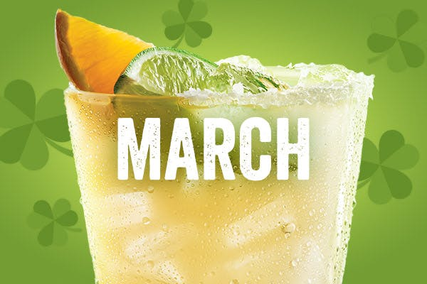The Lucky Jameson $5 Margarita of the Month