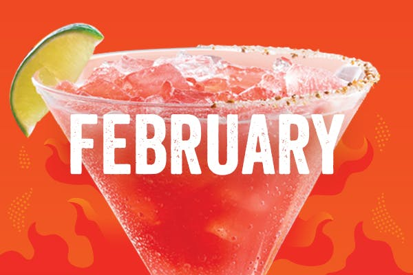 Hearts on Fire 'Rita $5 Margarita of the Month