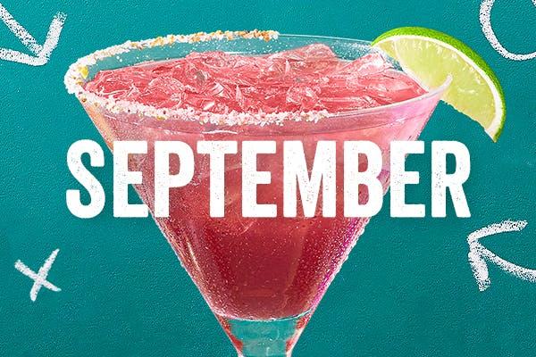 Chili's Margarita of the Month | Black Cherry Blitz | September