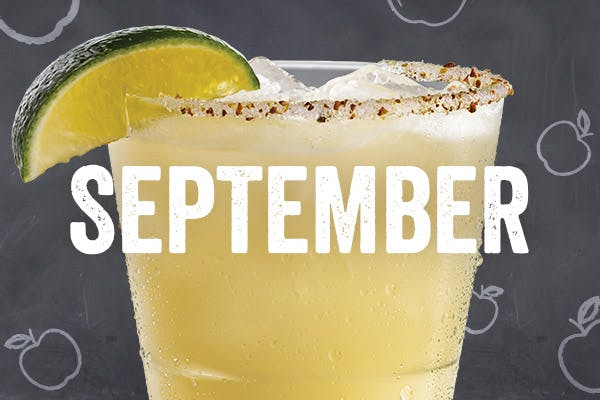 Chili's September Jack to School 'Rita for $5