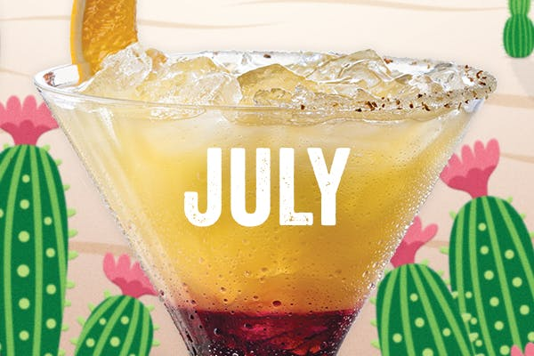 The Grand Sunset $5 July Margarita of the Month