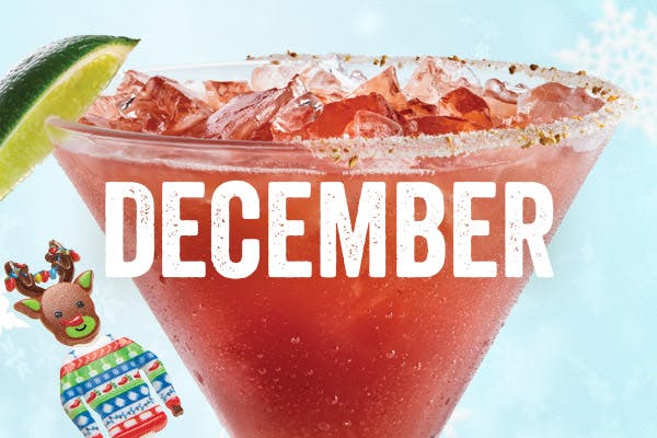 The Berry Blitzen 'Rita - Chili's December Margarita of the Month