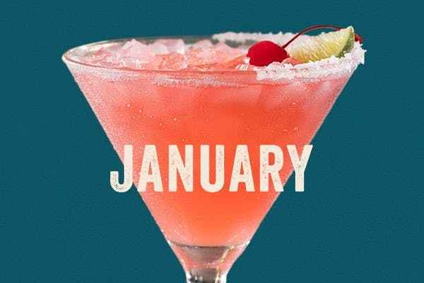 The Cherry Blossom - Enjoy Chili's January $5 Margarita of the month special