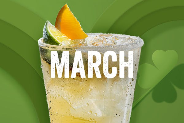 Chili's Margarita of the Month | Lucky Jameson | March