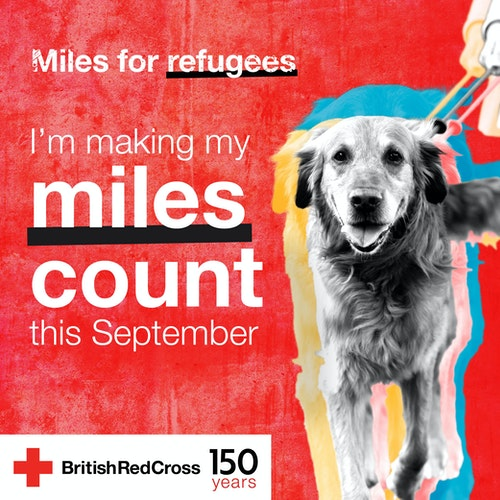 Miles for refugees - I'm making my miles count this September