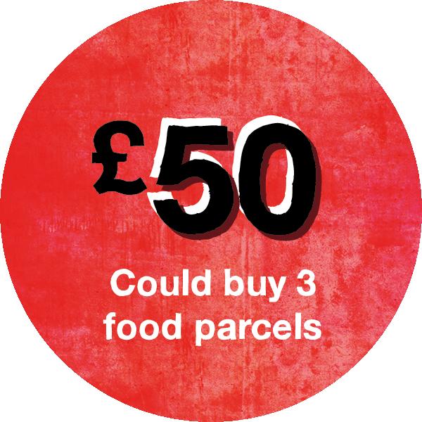 £50 raised