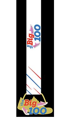 The Big 100 Medal