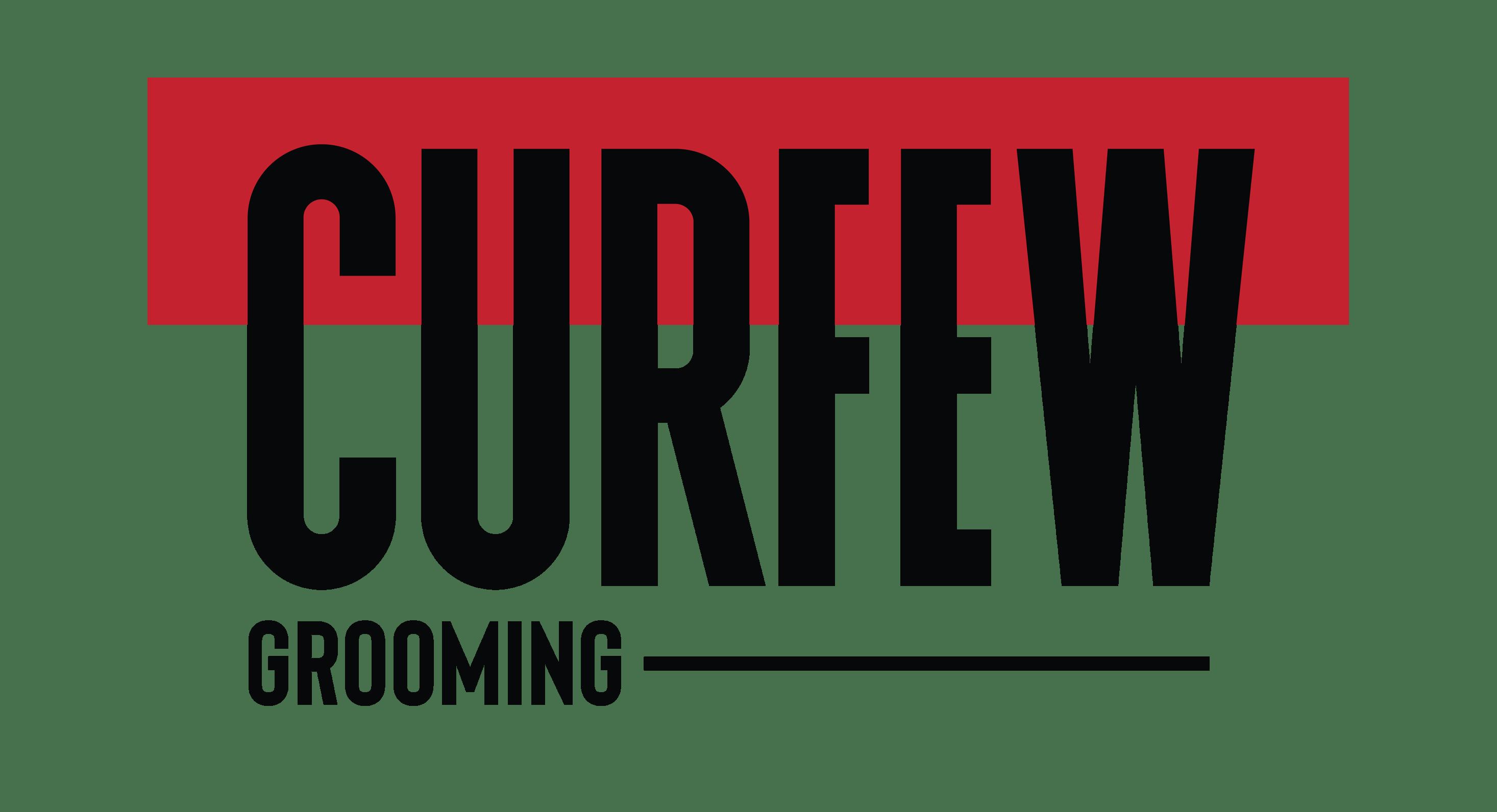 Curfew Grooming logo