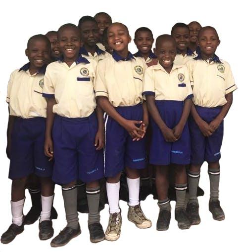 Choir kids at BHIK