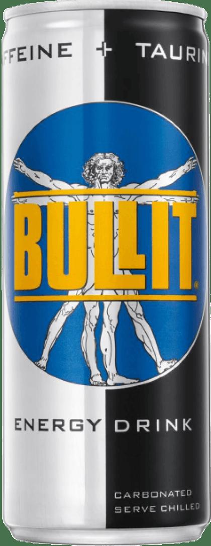 Bullit energy drink can