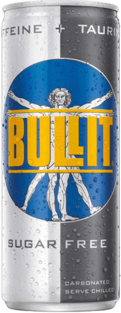 Bullit Sugar Free Energy Drink