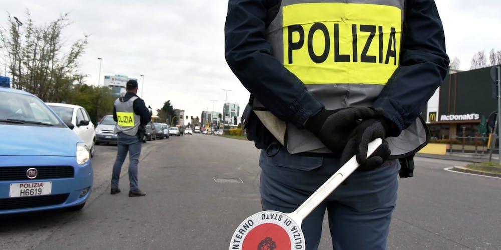 coronavirus polizia