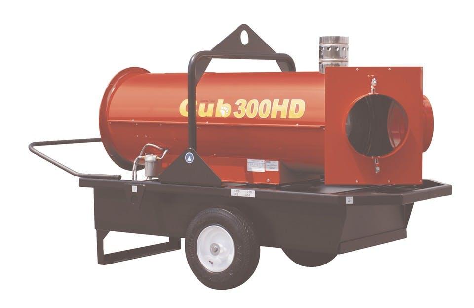 Cub 300 hd Heater 0