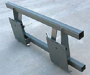 Adapter Plate for Wacker Skidsteer Attachments 0