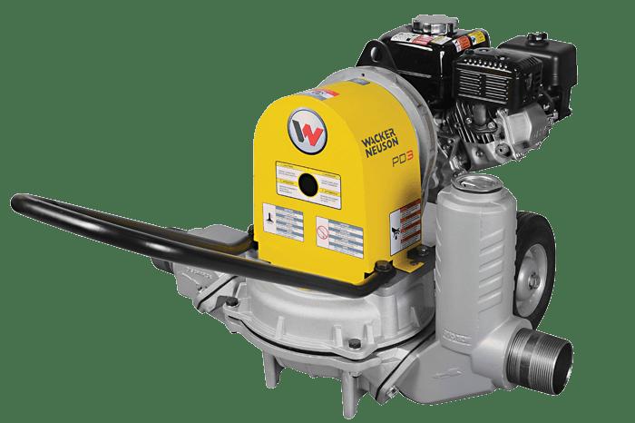 "Wacker Neuson 3"" Gas Diaphragm Pump 0"
